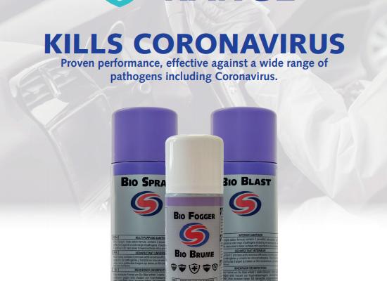 Bio Range kills Coronavirus
